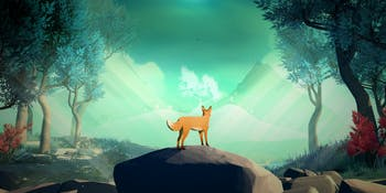 You play a fox in David Wehle's new indie game: 'The First Tree'.