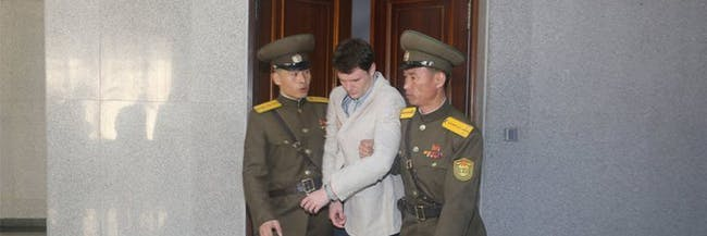 Otto Warmbier student North Korea prisoner