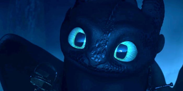 'How to Train Your Dragon 3' Toothless