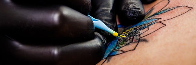 Tattoos of the future can monitor your health.