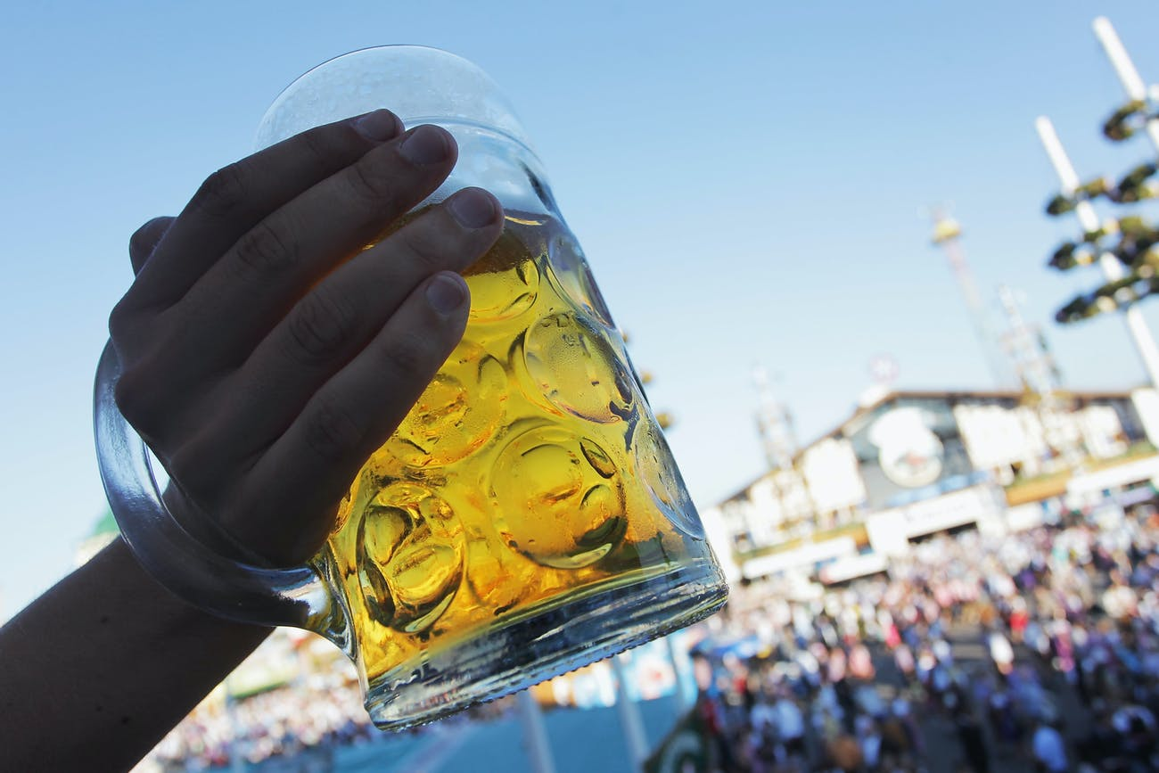 Light Beer Dye St. Patrick's Day