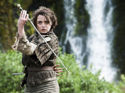 Arya Stark is Just a Jedi Knight, Right?