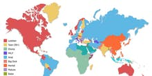 Pornhub Released a Detailed Map of the World's Porn Interests