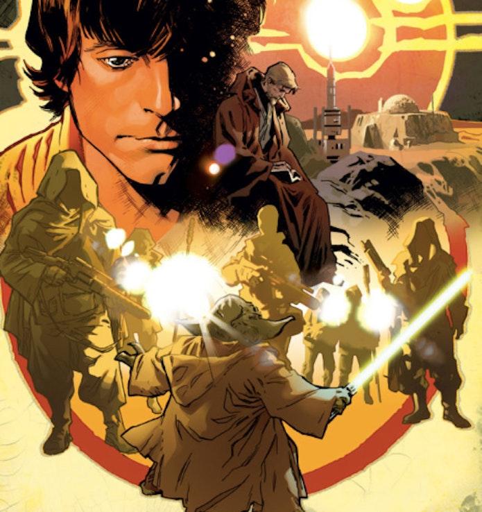 Star Wars marvel comics yoda obiwan