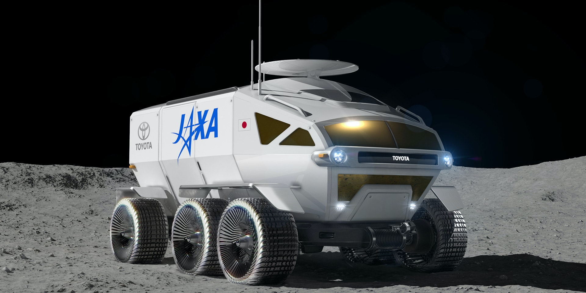 Video Shows Toyota's Planned Moon Rover With 18 Times the Range of Model S