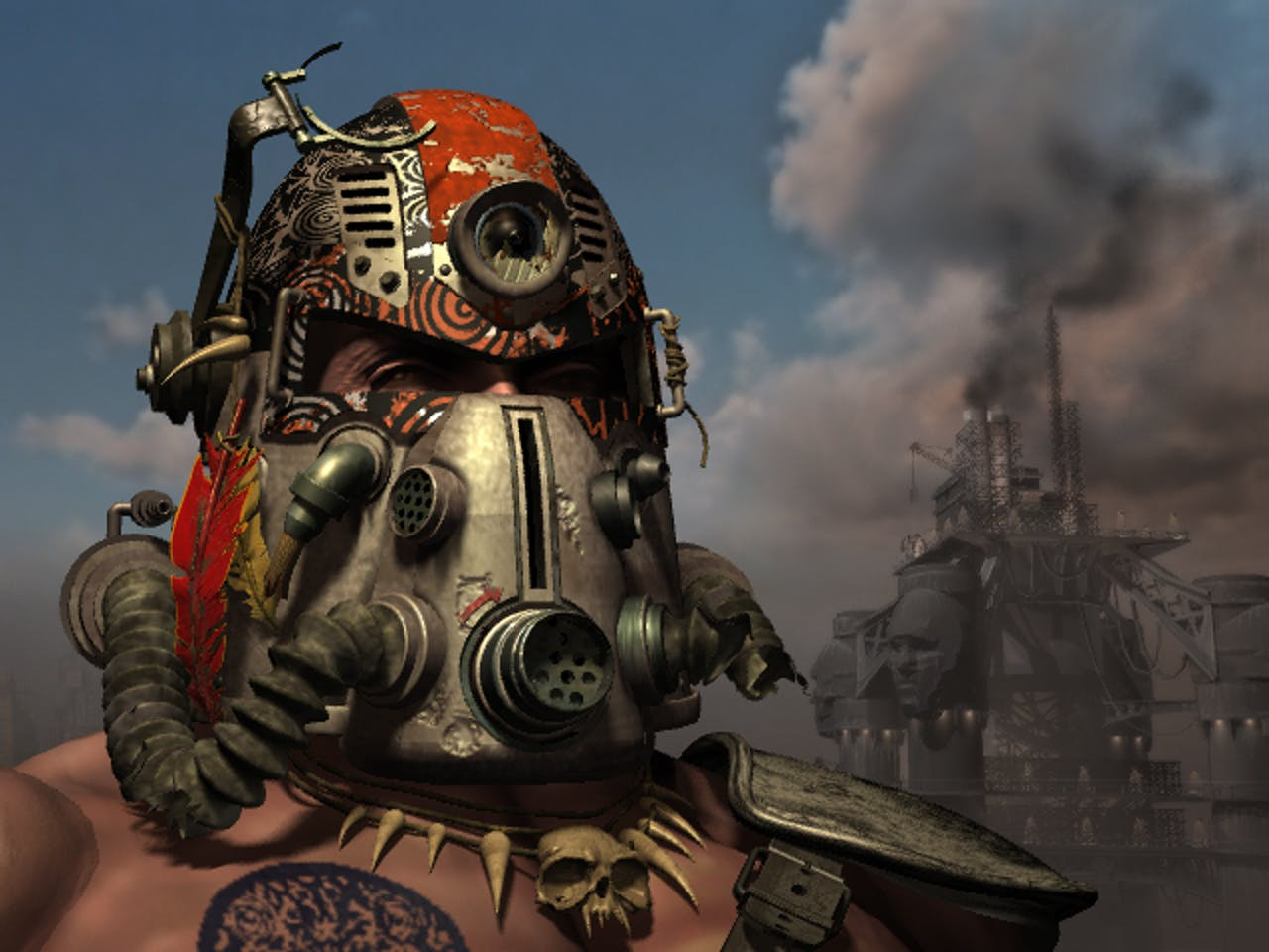 Tribal Power Armor Fallout 2