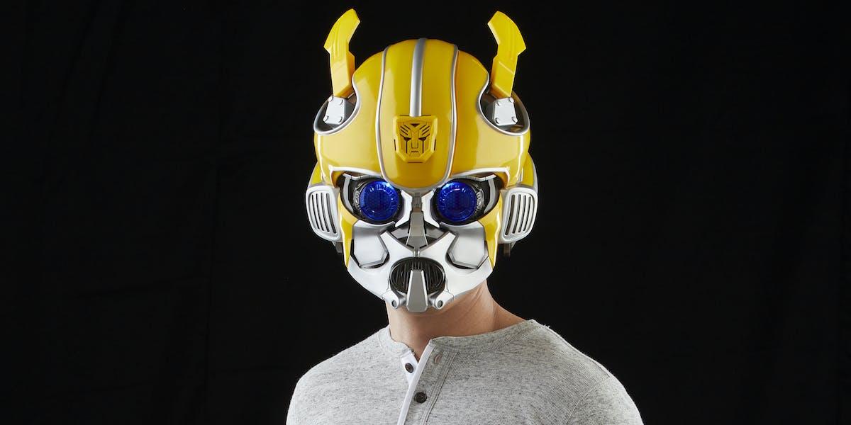 Bumblebee Hasbro S Bluetooth Helmet Will Transform Your
