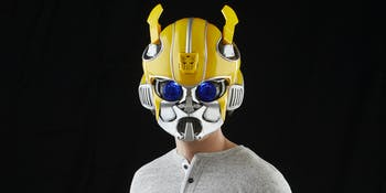 Transformers Bumblebee Bluetooth Cosplay