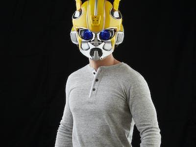 Transformers Bumblebee Bluetooth Cosplay