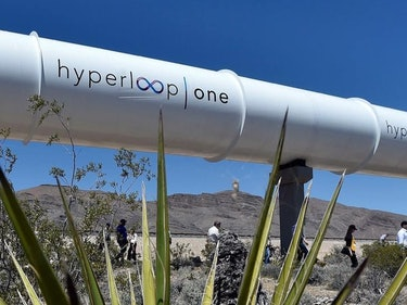 Hyperloop One Has a Plan to Link Up With Self-Driving Cars