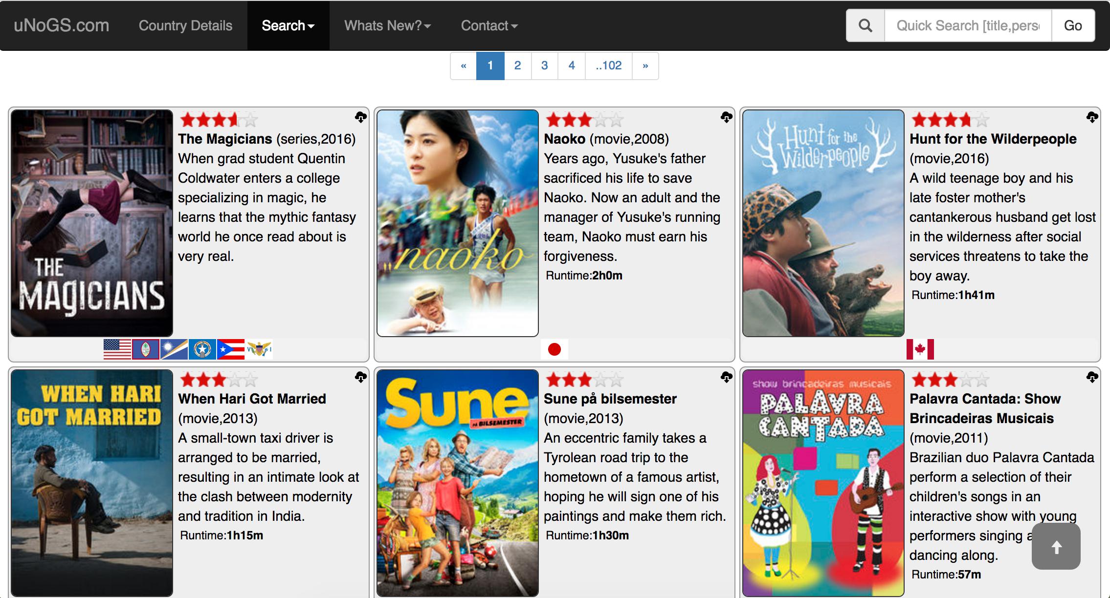 Nobody said Netflix's catalog is boring.