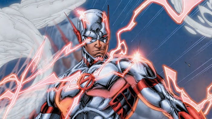 Wally West from the Future.