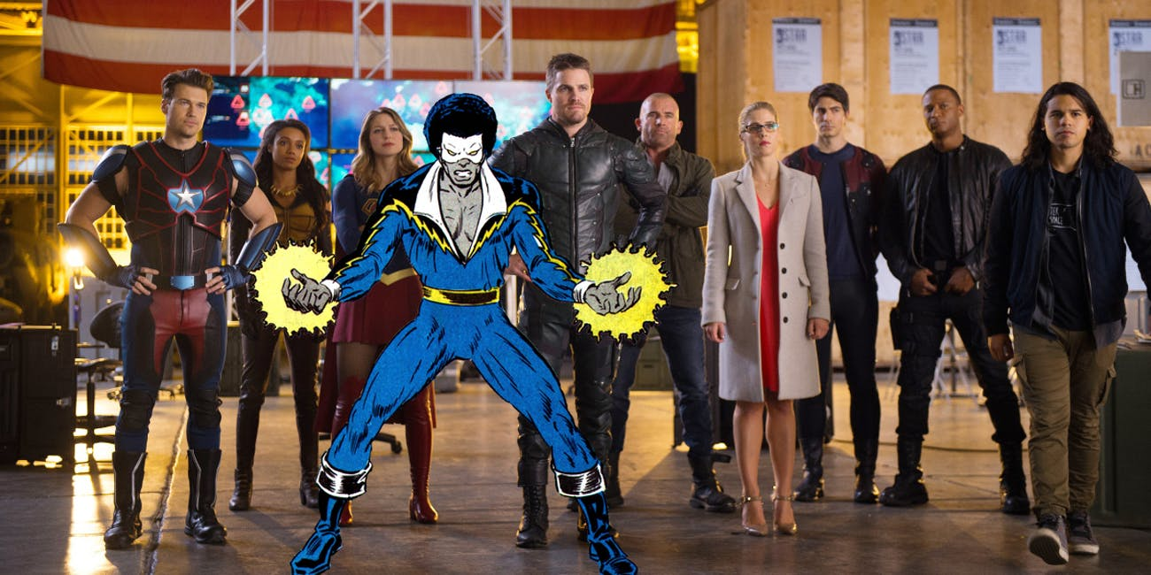 Arrow Black Lightning The Flash
