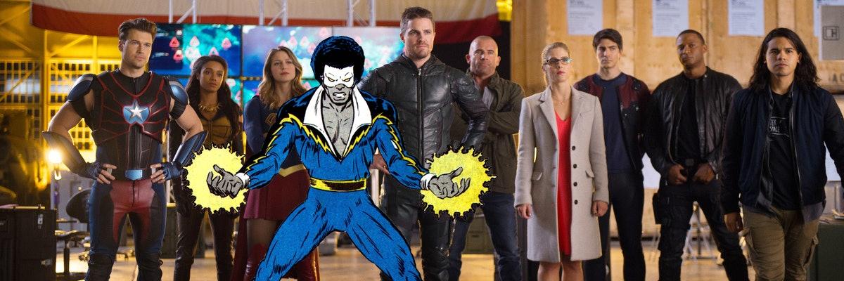 Arrow Black Lightning The Flash