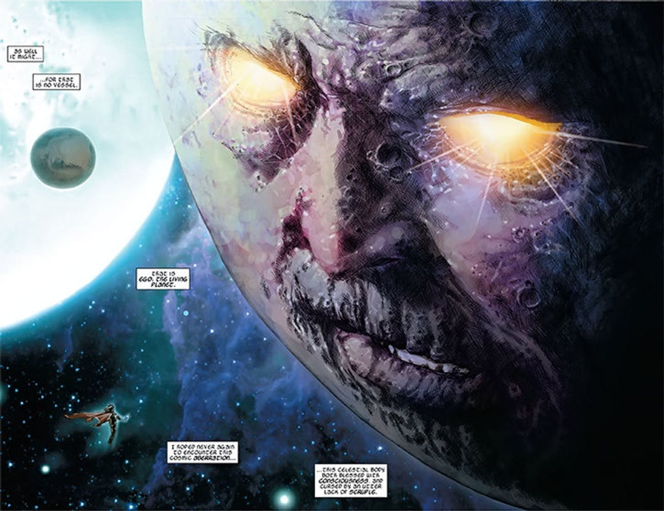 Ego the Living Planet in Marvel Comics