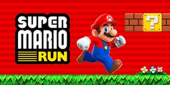 Logo for Super Mario Run from Nintendo for iPhone and iOS