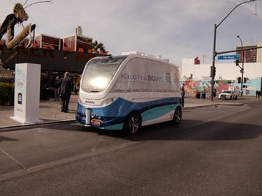 This Is America's First Self-Driving Public Transit Vehicle