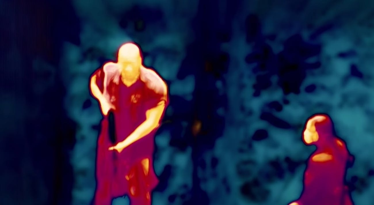Thermal vision from 'The Predators'