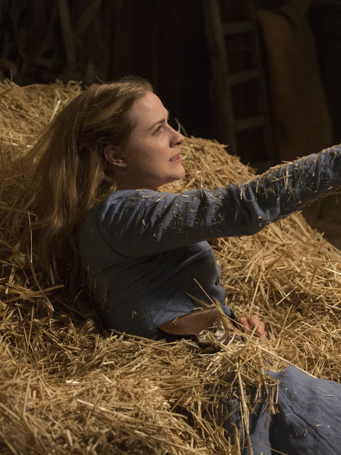 Evan Rachel Wood in 'Westworld'