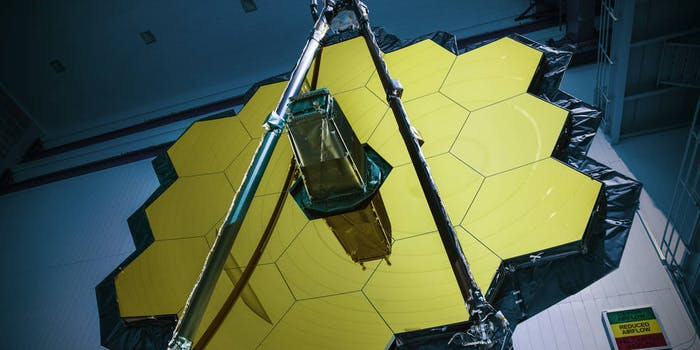 The James Webb Telescope has completed testing at the Goddard Space Flight Center.