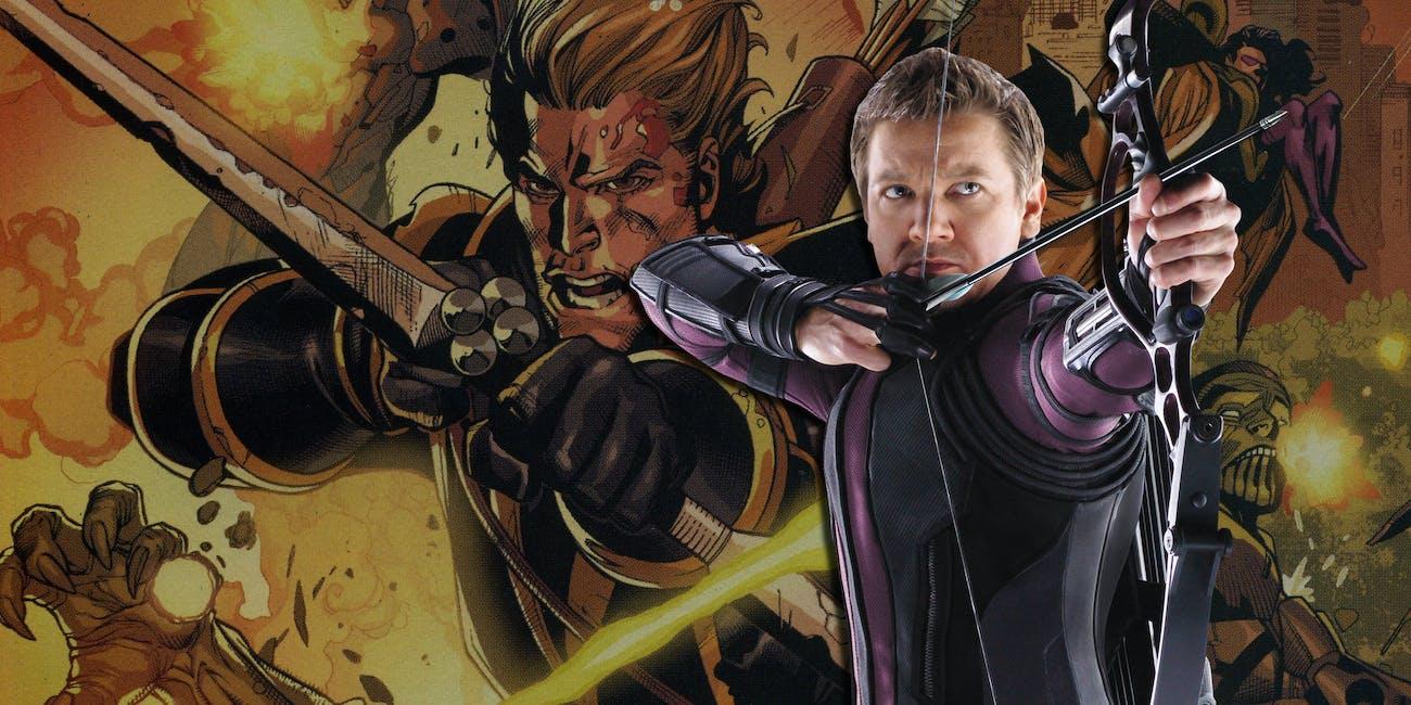 Hawkeye Ronin Avengers Infinity War