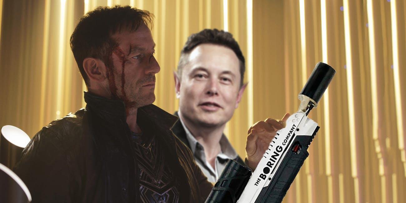 Captain Lorca teams up with Elon Musk