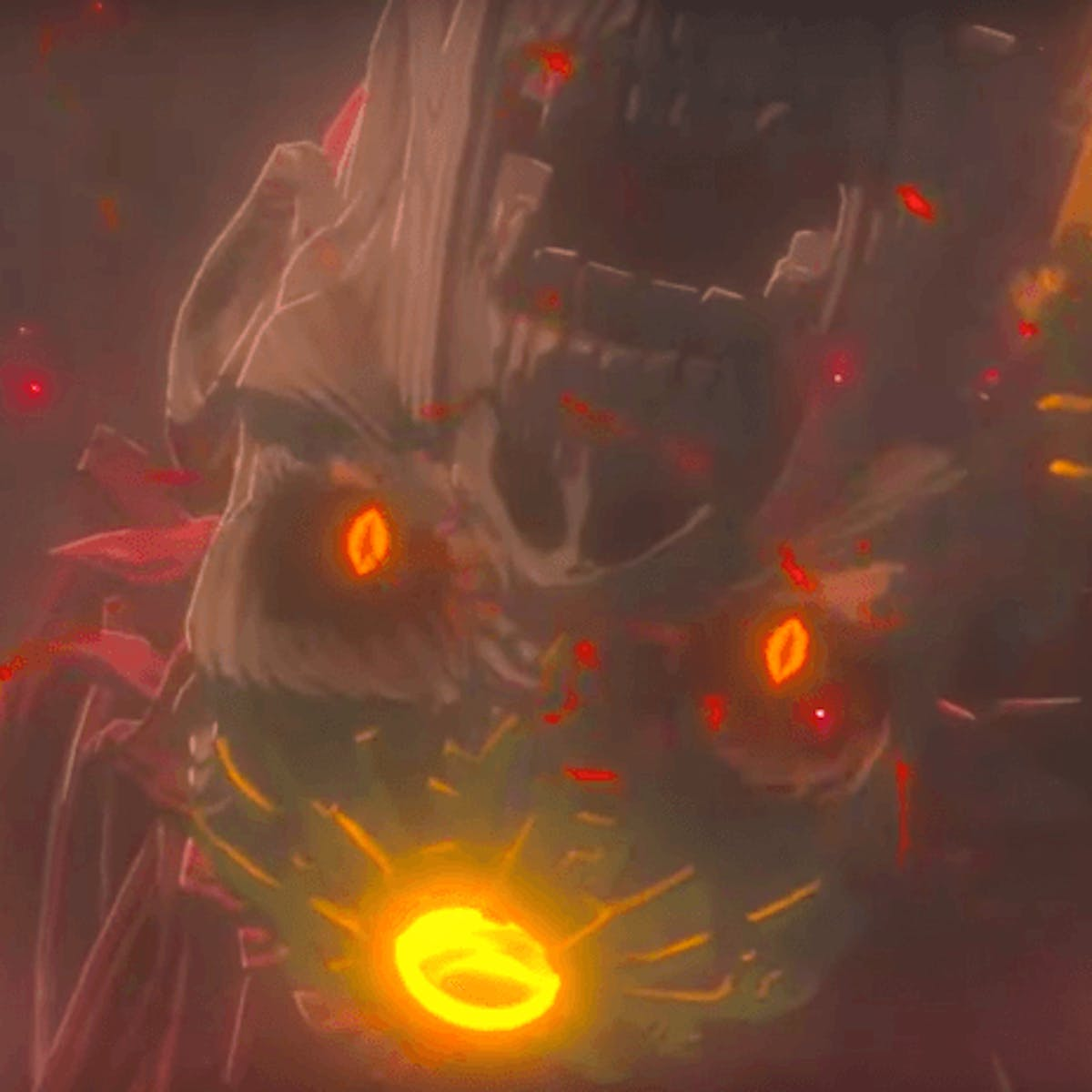 Breath Of The Wild 2 Reversed Audio Teases An Enemy Older