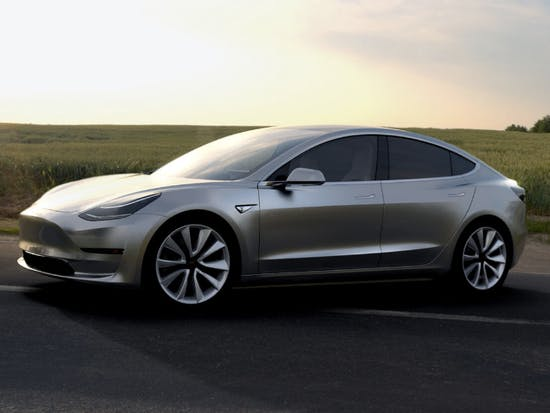 "Tesla's ""Impossible"" Model 3 Production Date Is One Year Away"