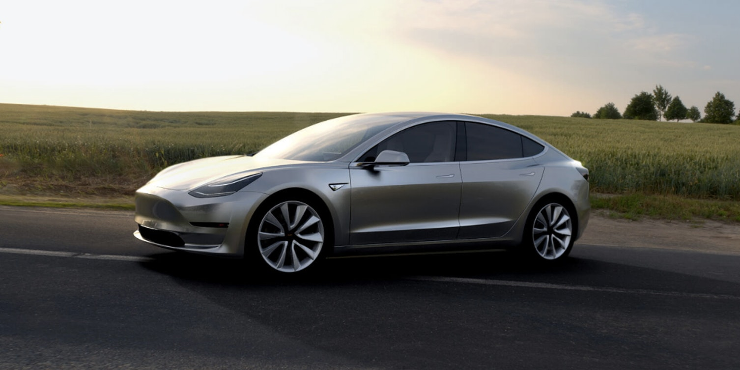 """Tesla's """"Impossible"""" Model 3 Production Date Is One Year Away"""