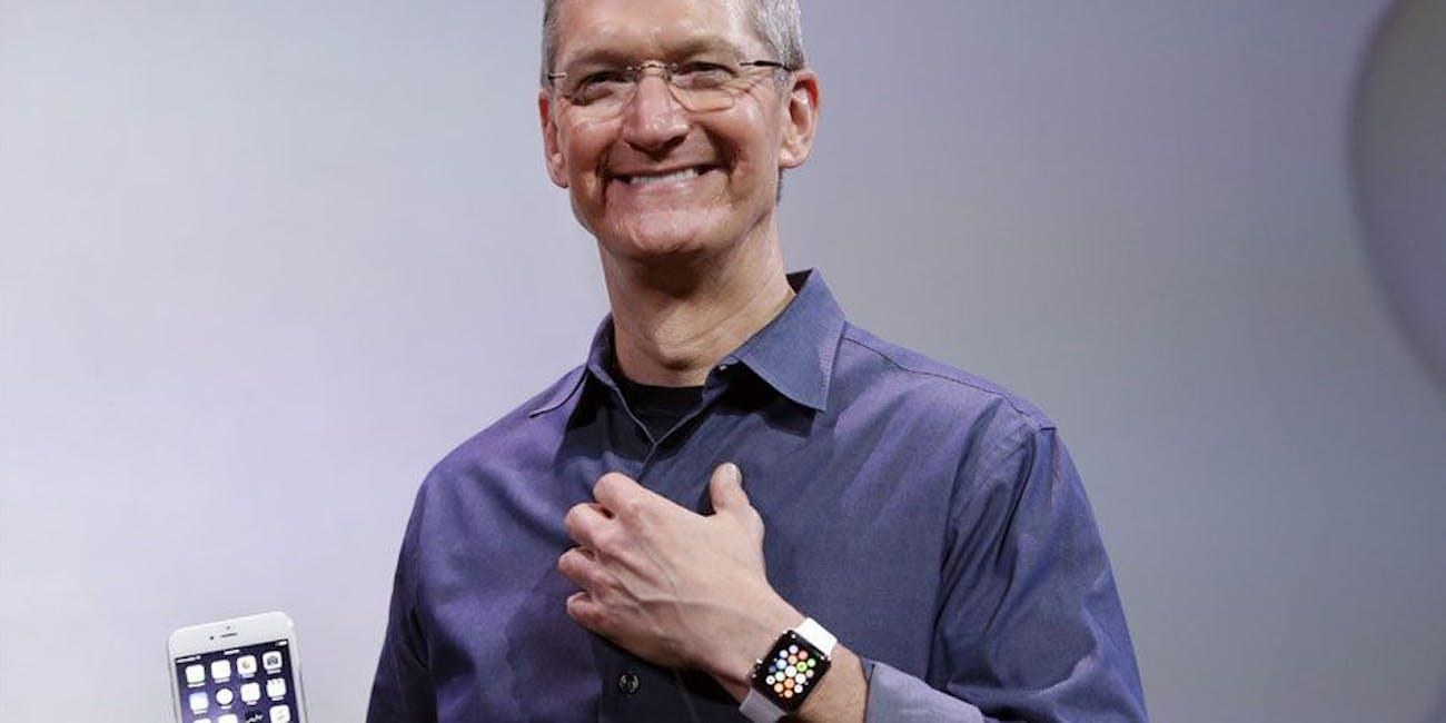 tim cook apple watch iphonoe
