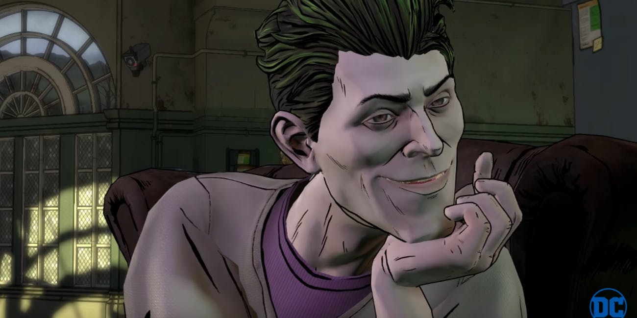 Joker in Batman the Telltale Series