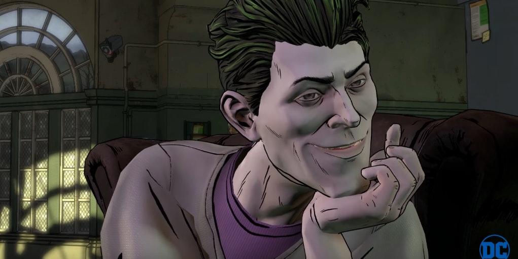 Joker in Batman the Telltale Series