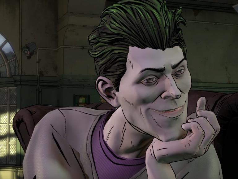 Telltale's Joker Breaks Bruce Wayne Out of Arkham