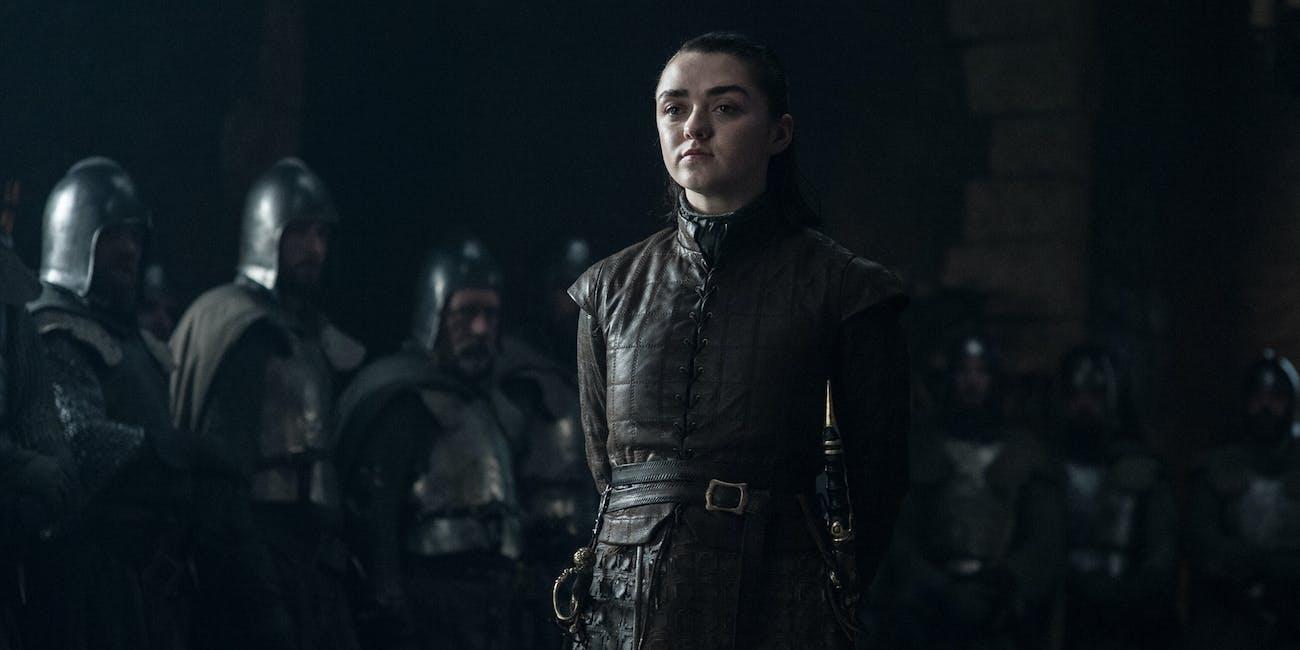 Game of Thrones Season 8 Arya Maisie Williams