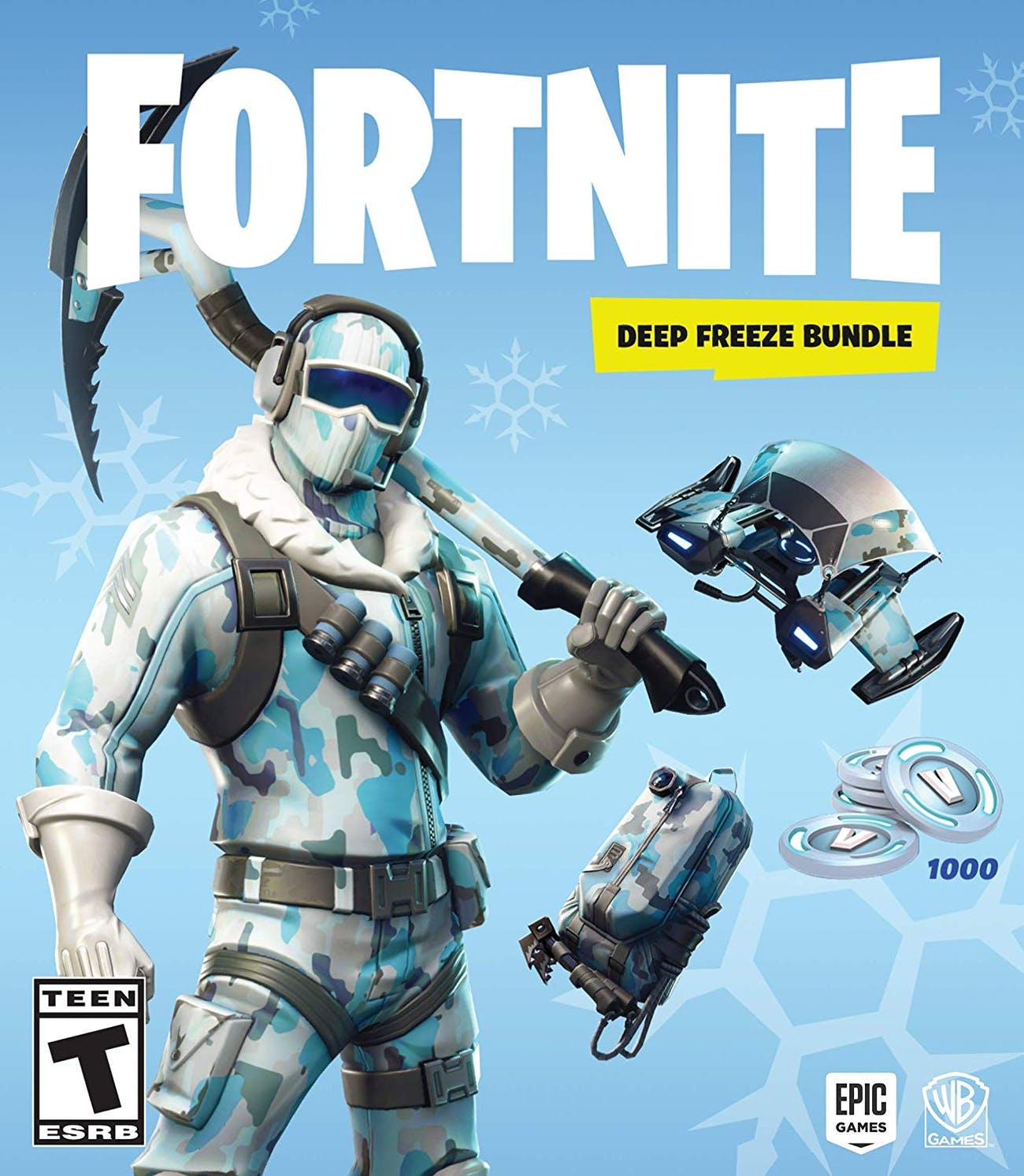 Fortnite: Deep Freeze Bundle' Is a Totally Brilliant Waste