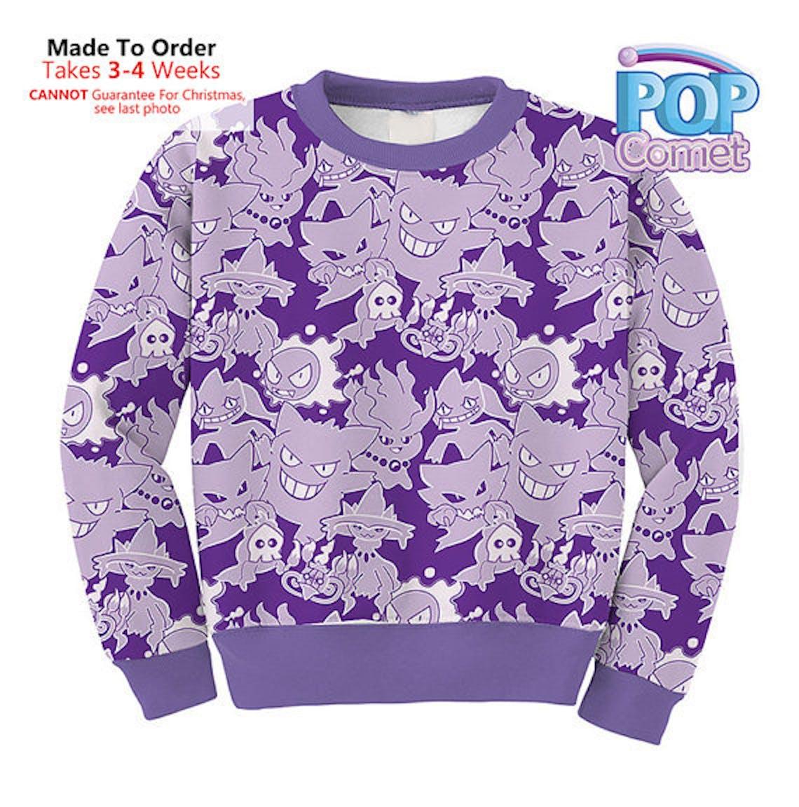 Gengar Sweater