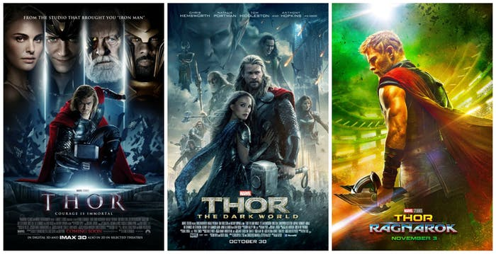 The new Thor poster is a departure from the artwork of its predecessors.