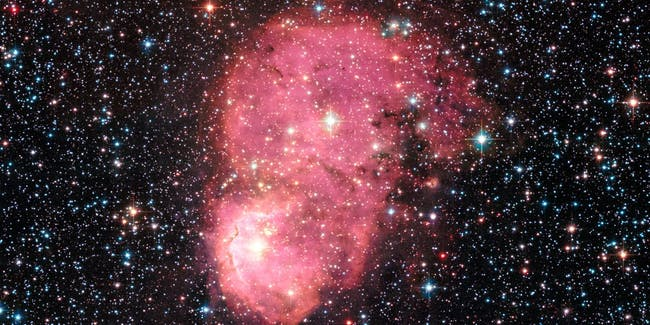 NGC 248 shines brightly in this new Hubble image.