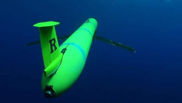 A Rutgers university ocean glider probably similar to the one siezed.
