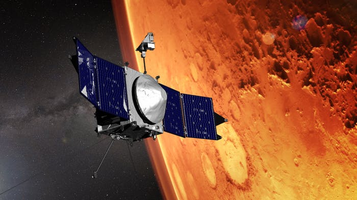 MAVEN NASA Discovers Ions in Mars Atmosphere or Ionosphere