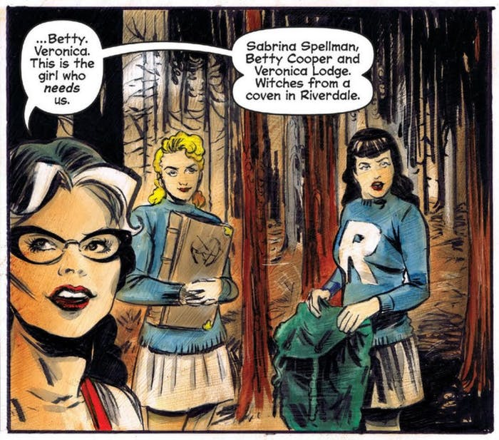 Cw S New Sabrina Series Is More Like Buffy Than