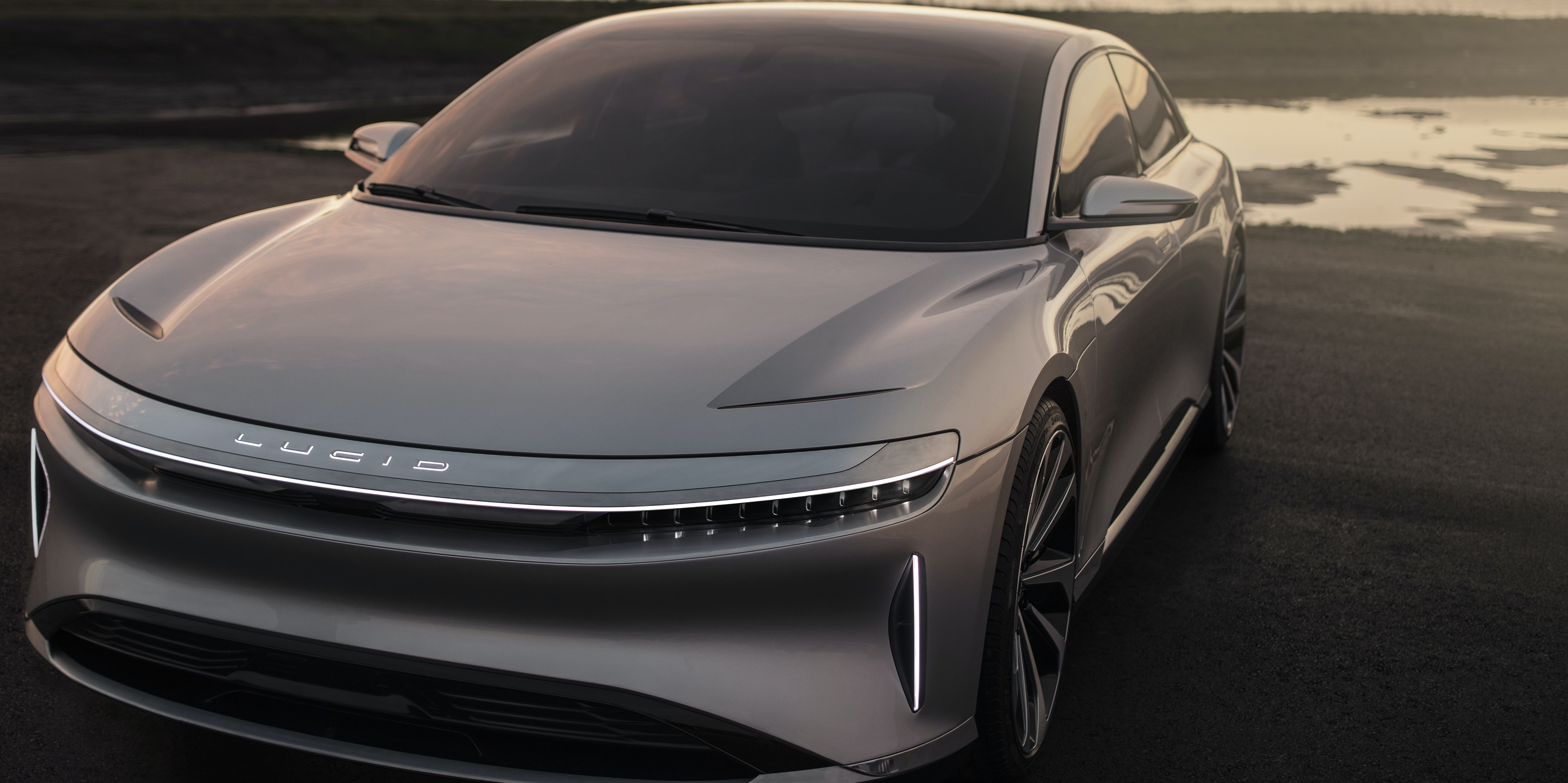 Lucid Motors Unveils Its Electric Sedan to Rival Tesla's Model S