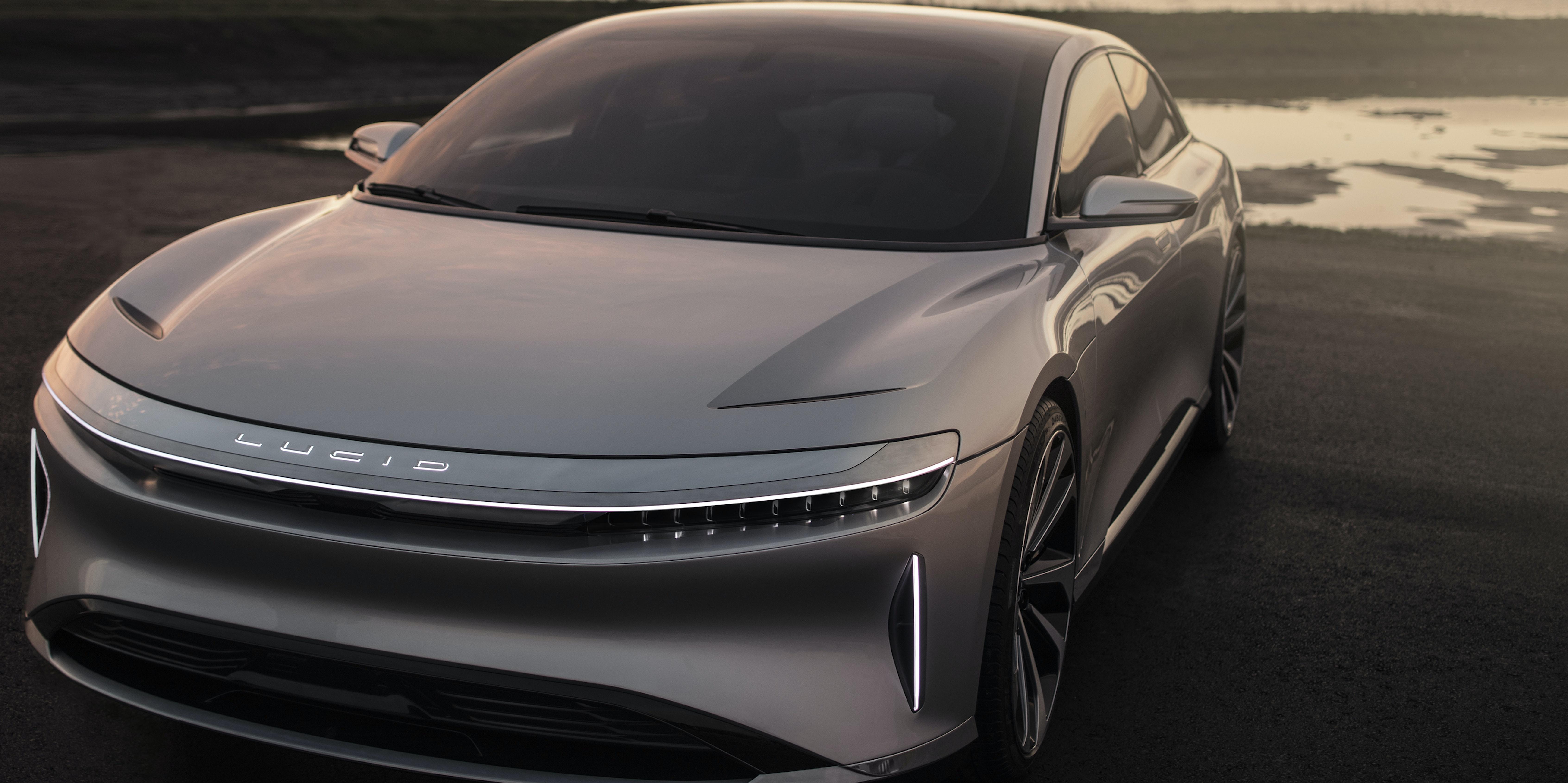 Lucid Motors Unveils Its Electric Sedan to Rival Tesla's ...