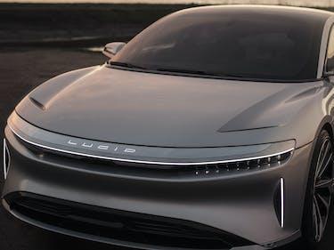 Lucid Motors Unveils Its Electric Sedan to Rival Tesla's Model S
