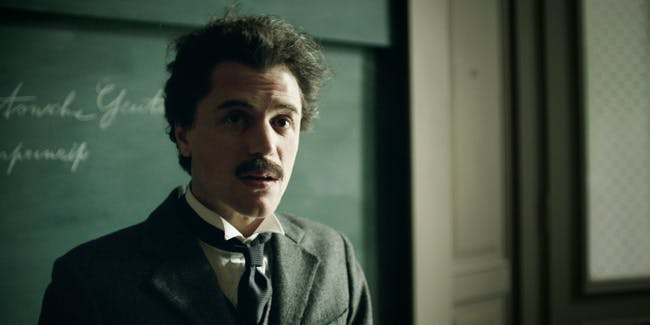 Albert Einstein in National Geographic's 'Genius'
