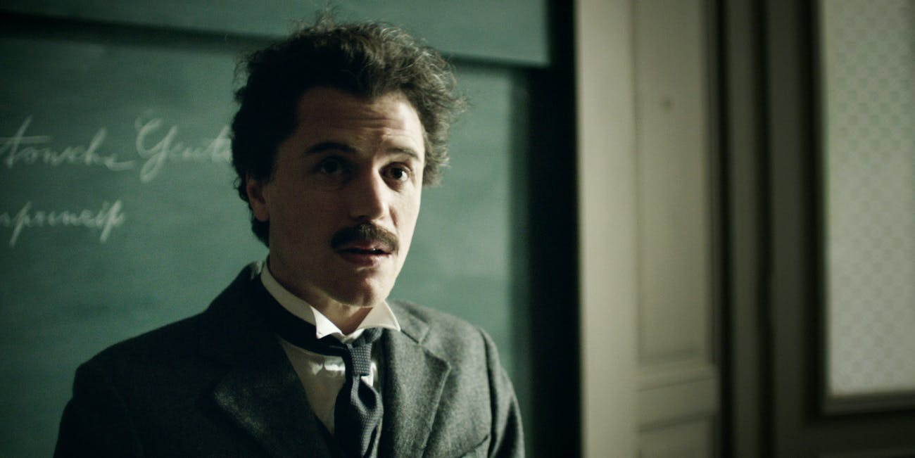 Albert Einstein in National Geographic's 'Genius'