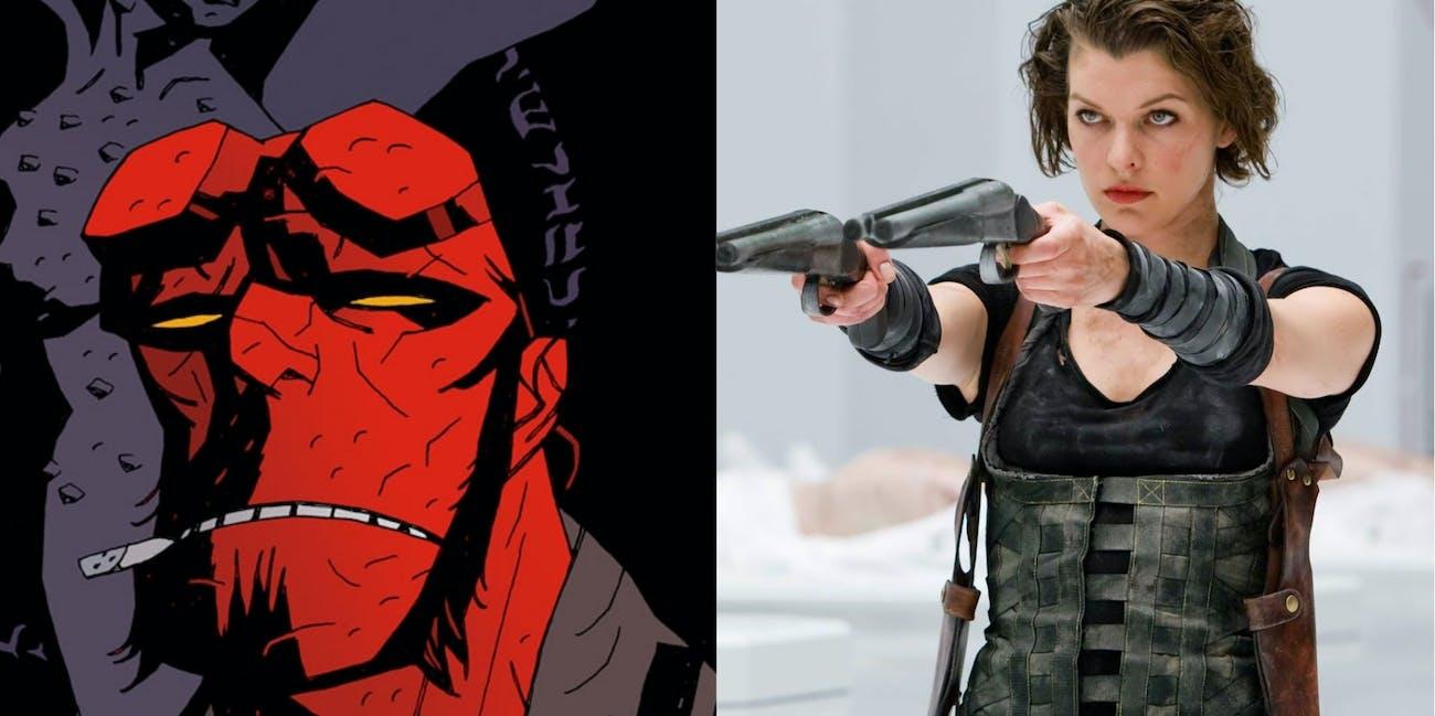 Resident Evil Hellboy