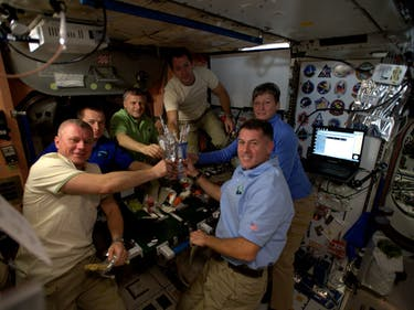 This Is What Thanksgiving in Space Looks Like