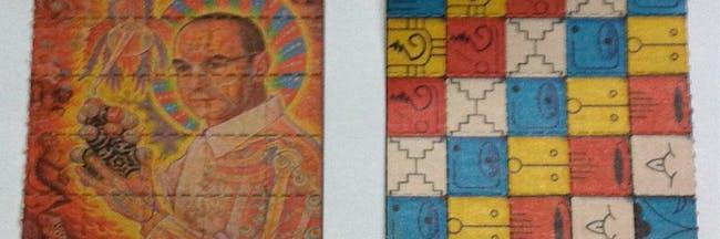 St. Albert (Alex Grey) / Mayan Calendars