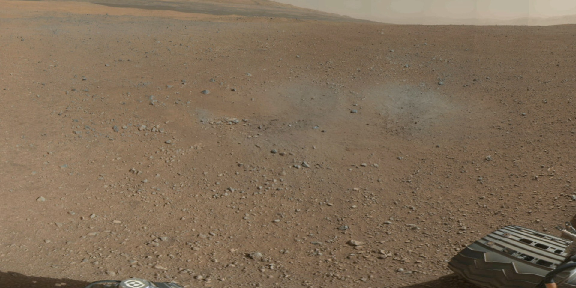 The Red Planet is ready for its close-up.